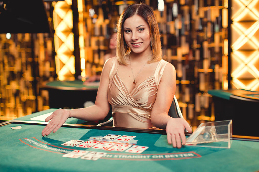 Live casino Texas Hold'em med progressiv jackpot